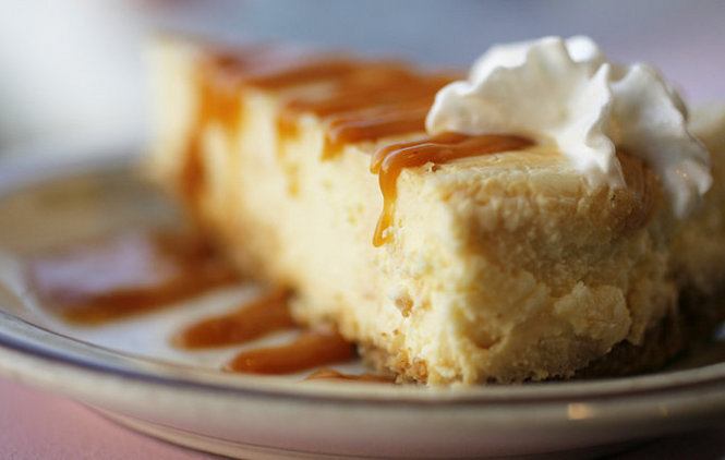 Caramelized Banana Cheesecake
